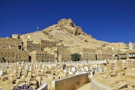 The cemetry in Tarim, Yemen