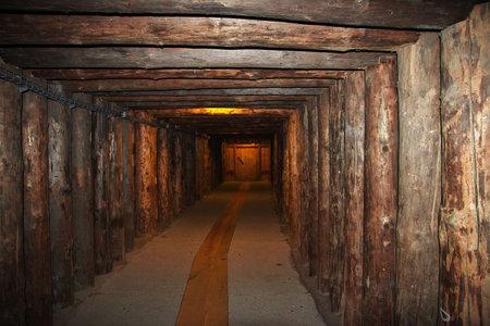 Wieliczka / Poland - 04 Sep 2015: Wieliczka salt mines in Poland Redakční