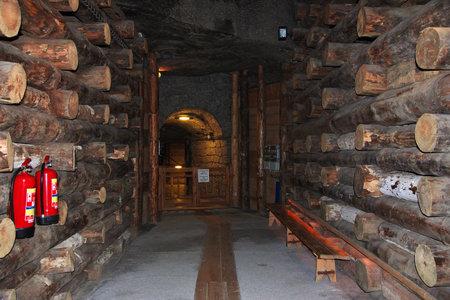 Wieliczka / Poland - 04 Sep 2015: Wieliczka salt mines in Poland Editorial