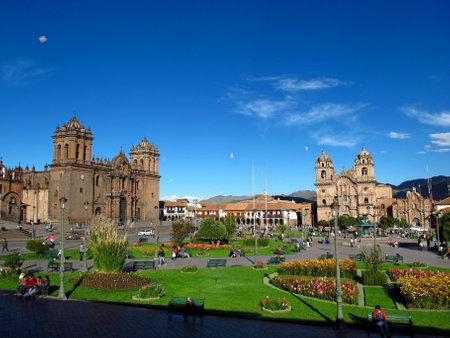 Cusco / Peru - 06 May 2011: Cusco Cathedral, the ancient church in Cusco, Peru Editorial