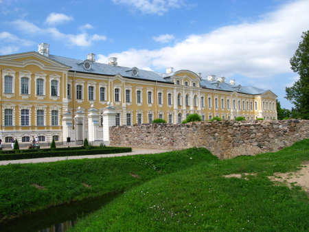 Rundale palace / Latvia - 31 Jul 2010: Rundale palace in Latvia, Baltic country