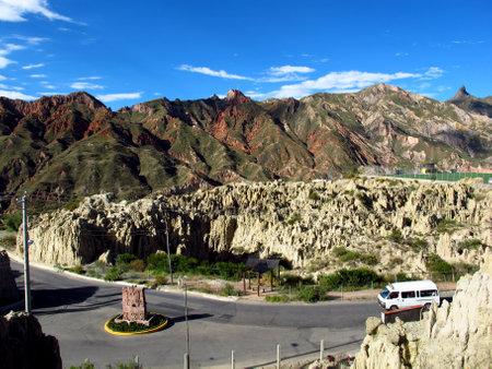 La Paz / Bolivia - 08 May 2011: Valley of the Moon, La Paz, Bolivia