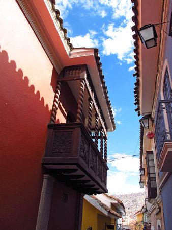 La Paz / Bolivia - 08 May 2011: Jaen Street, La Paz, Bolivia