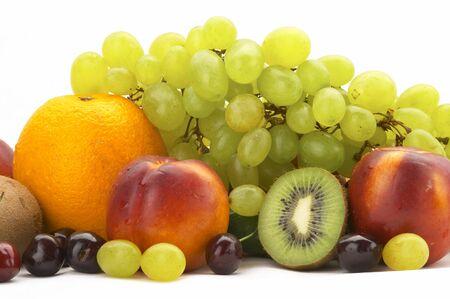 Rainbow of fruit Stock Photo - 1380128