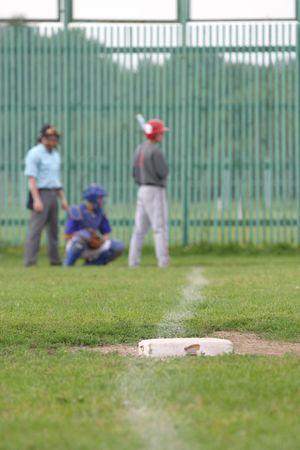 strong base: Baseball