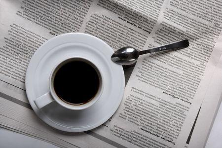 Coffee, news Stock Photo - 2247563