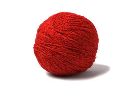 weave ball: Ball of a thread. Stock Photo