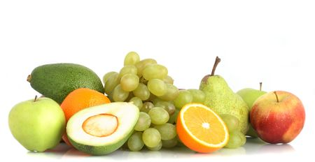 The various fruit useful to health, still-life Stock Photo - 2839186