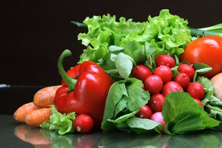 Fresh Vegetables, Fruits and other foodstuffs. Stock Photo - 2900555