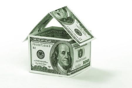 housing prices: bank money house