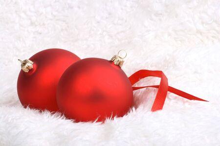 wintery: Wintery Christmas Decorations Stock Photo