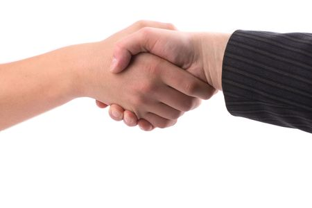 consent: Hand shake, the consent, business meeting.