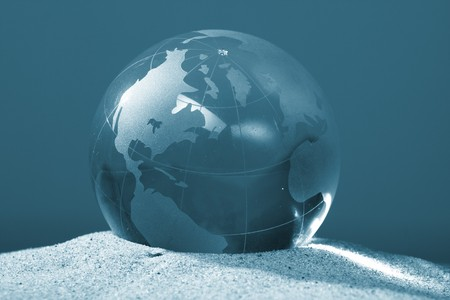 globe, environmental responsibility Stock Photo - 4179385