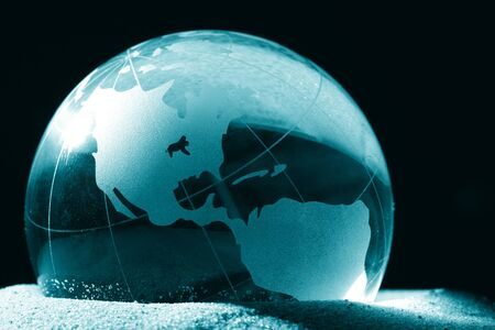 globe, environmental responsibility Stock Photo - 4179384