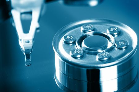 Hard disk detail   Stock Photo - 4768885