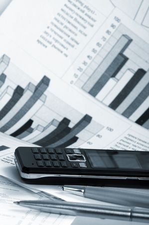 paper business news Stock Photo - 5117921