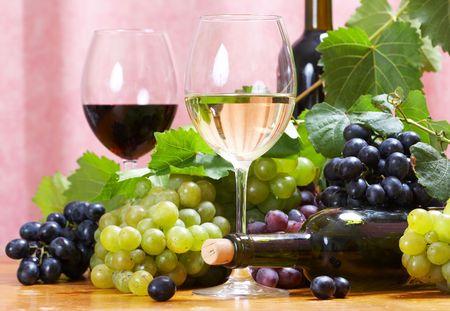 Wine composition Stock Photo - 5117862