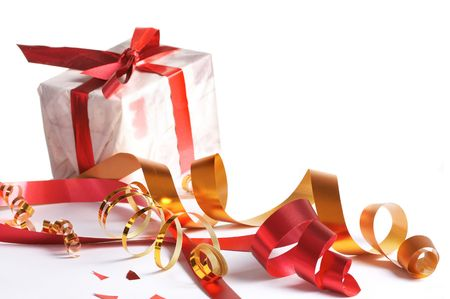 Celebratory tapes, gift Stock Photo - 5278813