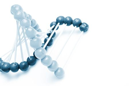 chemically:   Molecule of DNA Stock Photo
