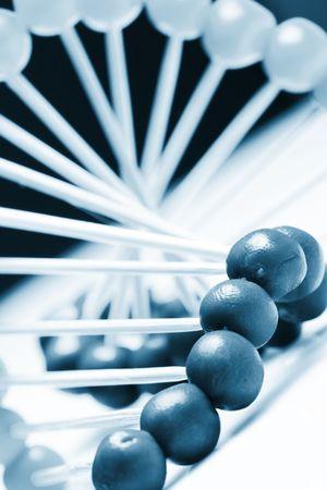 helix:   Molecule of DNA Stock Photo