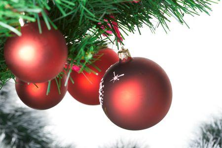 Christmas tree decorations  photo