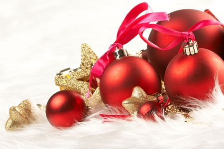 glass ball: Holiday background