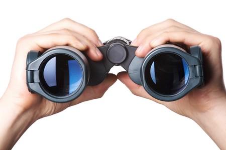 binocular: binoculars  Stock Photo