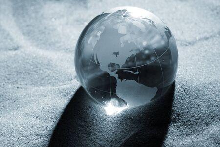 globe, environmental responsibility Stock Photo - 7416064