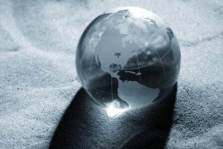 globe, environmental responsibility Stock Photo - 7416064