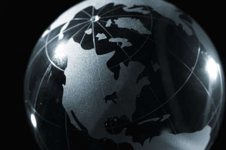 environmental responsibilities: globe, environmental responsibility Stock Photo