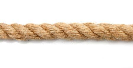 fixed line: rope  Stock Photo
