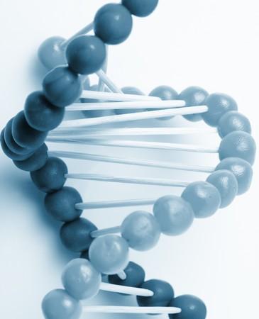 genom:   Molecule of DNA Stock Photo