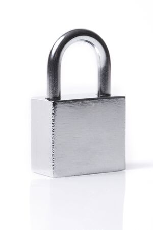 Lock on a white background  photo