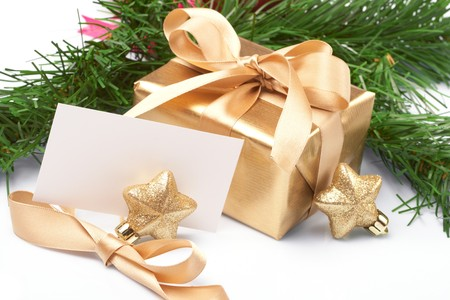 Christmas present Stock Photo - 8163723