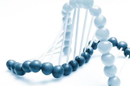 mutation:   Molecule of DNA Stock Photo