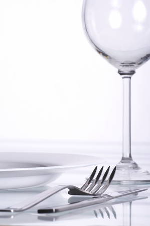 mesa para banquetes: Banquete de la mesa Foto de archivo