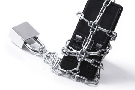 Mobile phone security photo