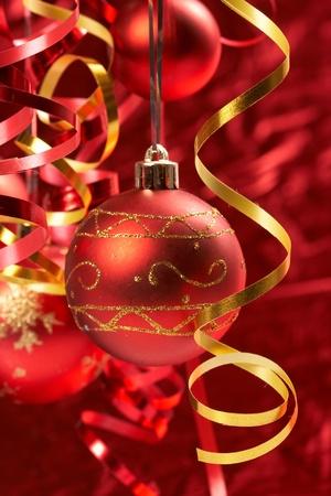 Palle di Natale rosso