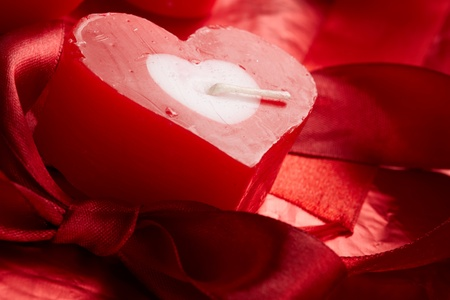 Romantic  candle photo