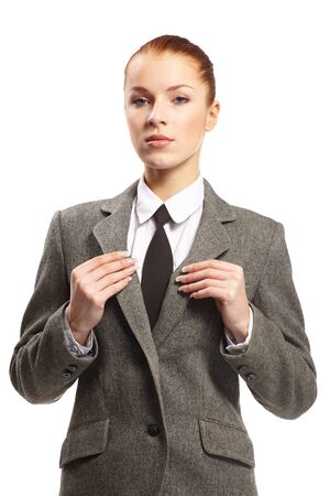 portrait of young businesswoman photo