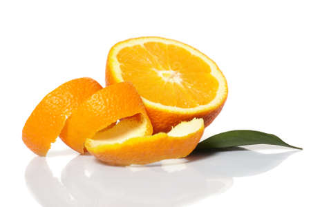 orange slices:  fresh oranges