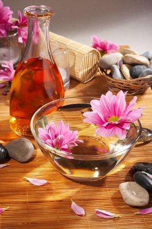 rejuvenating: spa still-life Stock Photo