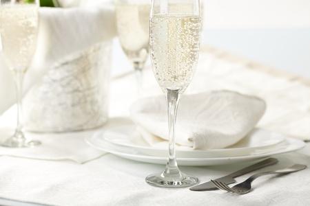 restaurant industry: Banquet table