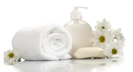 shampoo bottle: Spa collection