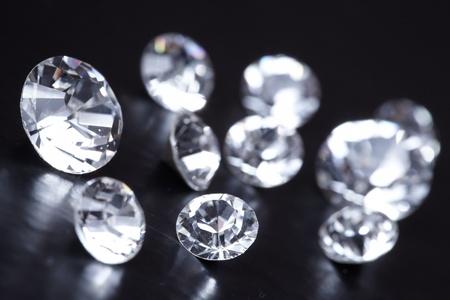 Brilliant diamond Stock Photo - 9559105