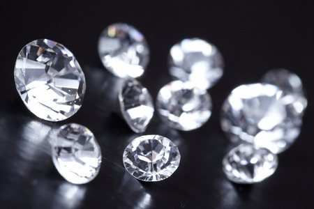 rough diamond: Brilliant diamond