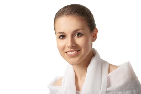 Portrait of pretty girl photo