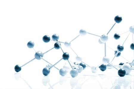 molecula:   Fondo molecular  Foto de archivo