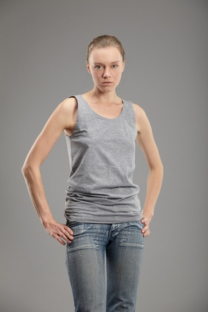 Portrait of an attractive young woman Stock Photo - 9760964