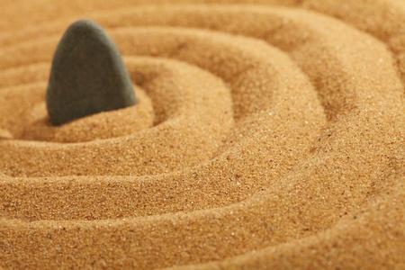 sand and stones photo